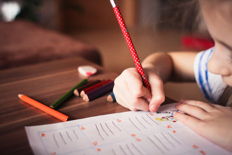 Учим писать и рисовать
