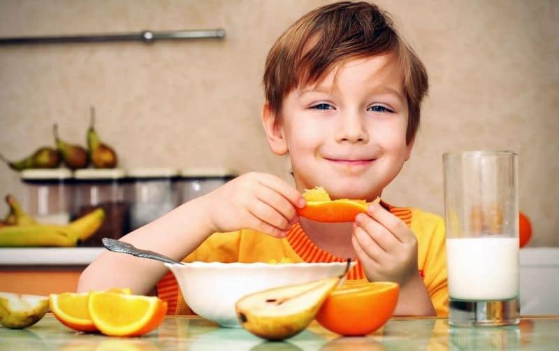Еда для мальчика
