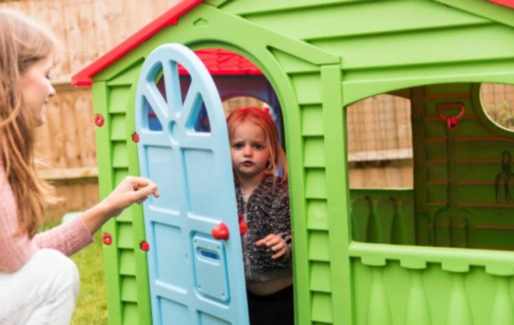 Игровой домик для ребенка фото